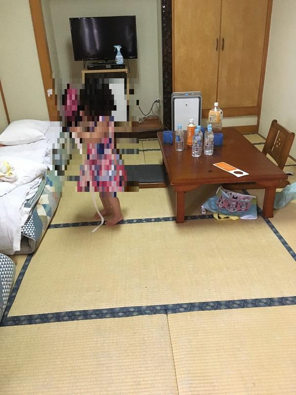 口コミサンプラザホテル・和洋室