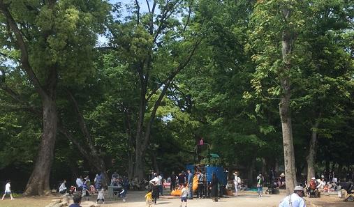 上野公園の遊具
