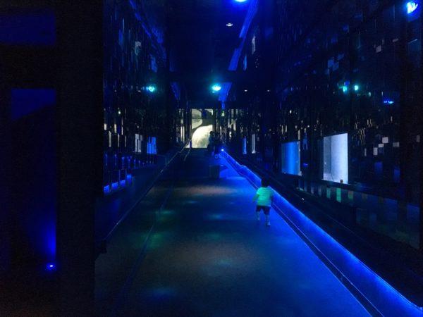 すみだ水族館万華鏡トンネル