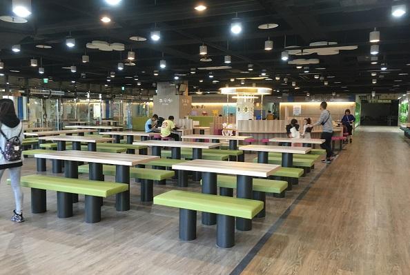 台北市児童新楽園・フードコート