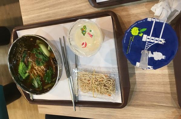 台北市児童新楽園・麺ランチセット