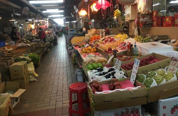子連れ迪化街・永楽市場近くの市場