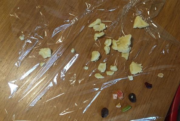 2歳児作のクッキー