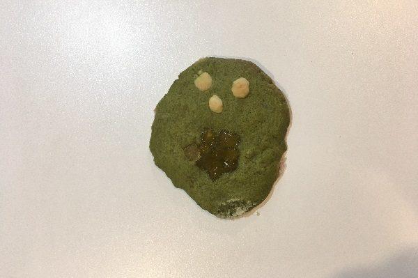 4歳児作のクッキー