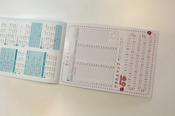 コストコ・学研ドリル進捗表