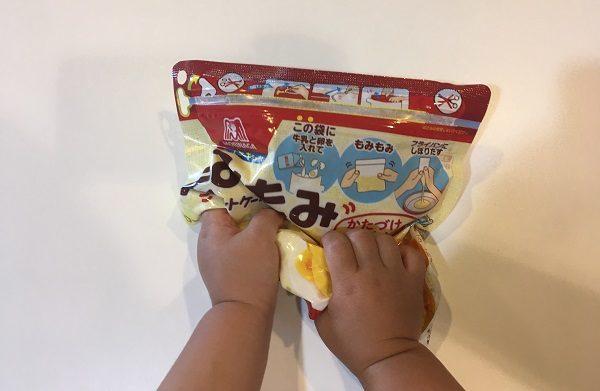 もみもみホットケーキミックス・2歳児