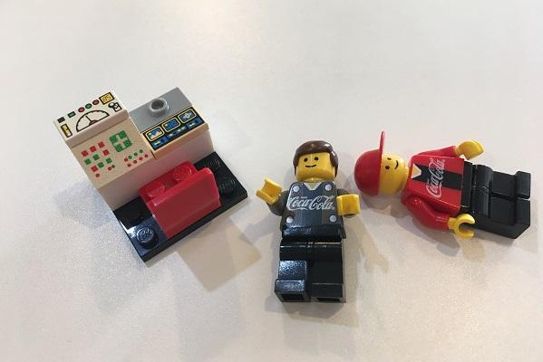 LEGO・30年程前のミニフィグ