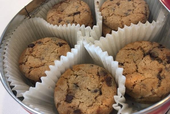 フライングタイガーのクッキー缶・チョコチップクッキー