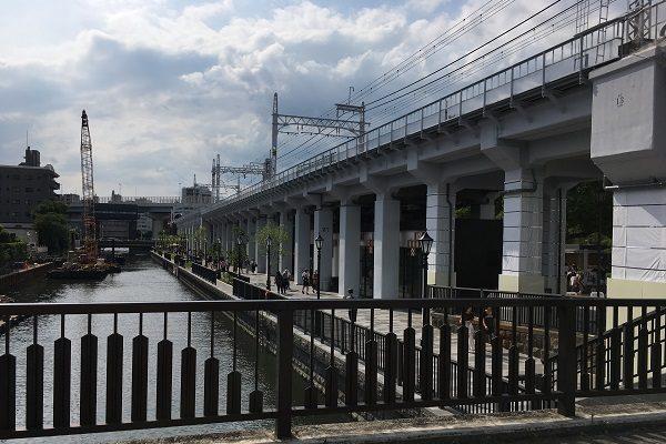 東京ミズマチ・北十間川のテラス