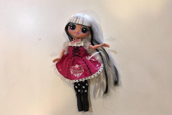 lolサプライズライトomg・リカちゃんのお洋服を着たlolドール