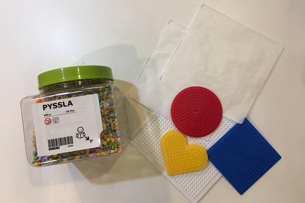 IKEAアイロンビーズ・セット