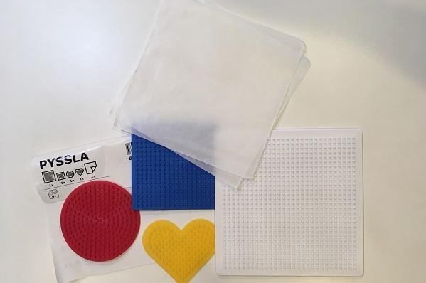 IKEAアイロンビーズ・台紙
