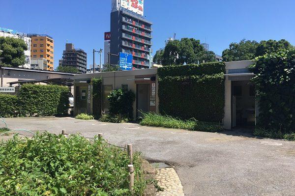 浅草隅田公園・公衆トイレ