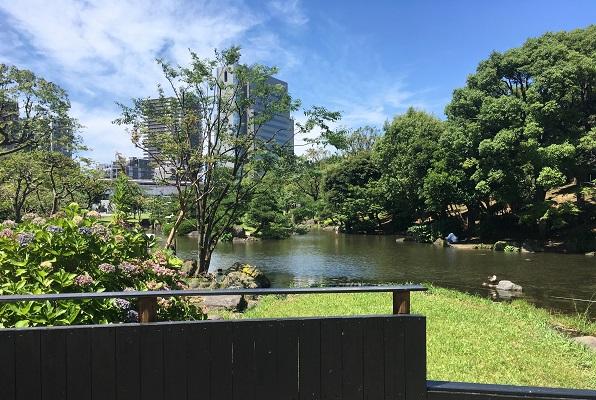 墨田区隅田公園・日本庭園