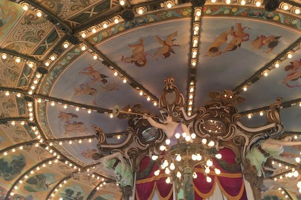 としまえん・カルーセルエルドラドの天井