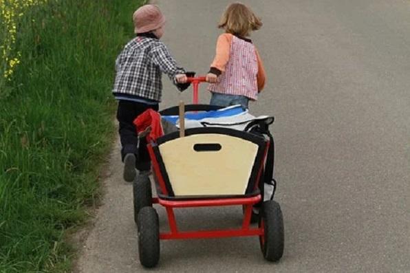 年子2人乗りベビーカー・ラクになった