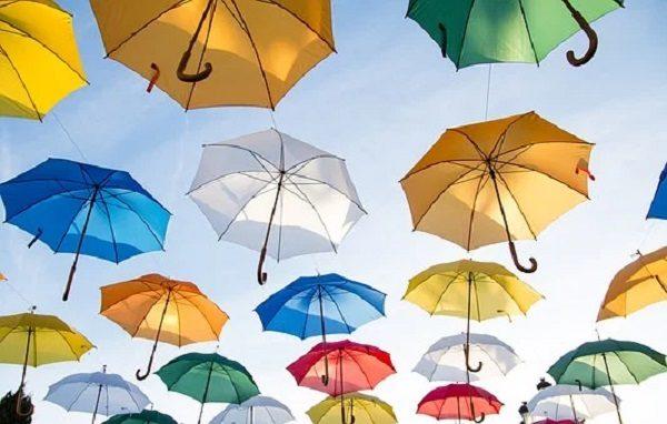 よく傘を壊す小学生・グラスファイバー傘
