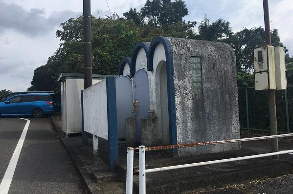 キッズダム駐車場・トイレ