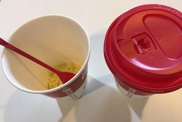キャンベルカップ付きコーンスープ・付属品