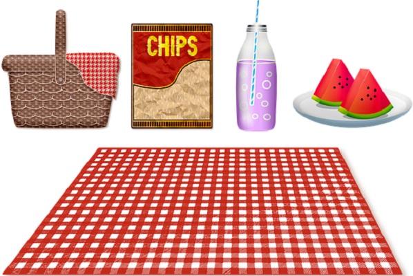 4歳児がつくるお弁当・ピクニック