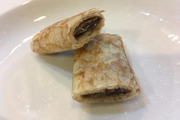 コストコチョコレートクレープ・断面図