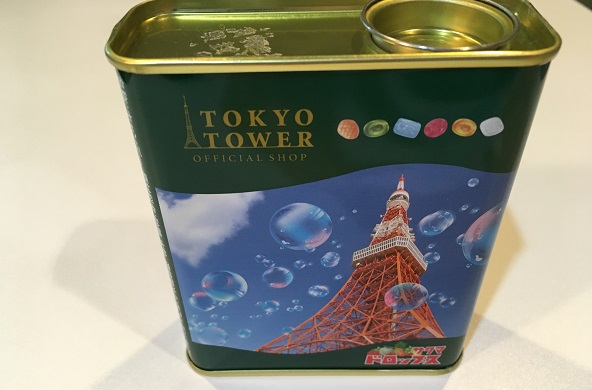 東京タワー台湾フェス2021・景品のキャンディー