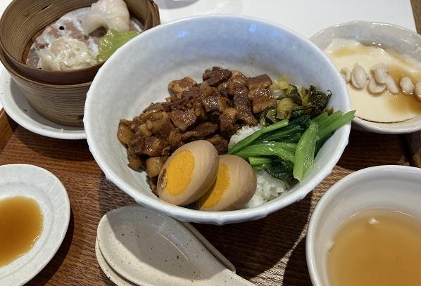 上野駅騒豆花・ランチセット