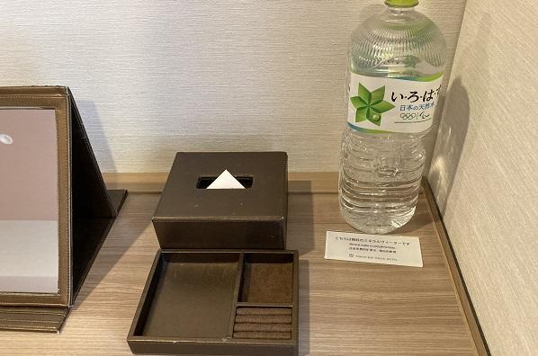 東京ベイ東急ホテル・ペットボトル無料