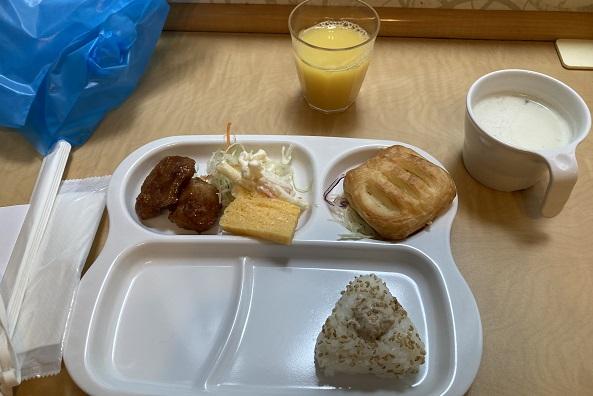 子持ち主婦の一人旅・朝食