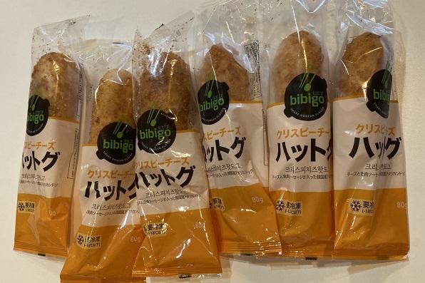 Bibigoクリスピーチーズハットグ・個別包装