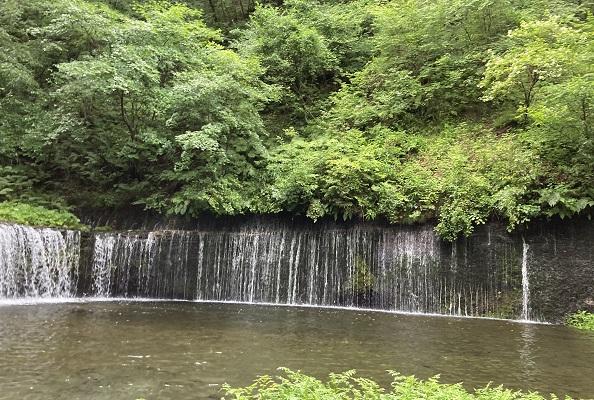 子連れ軽井沢・白糸の滝観光おすすめ